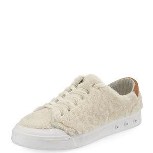 Rag and Bone Standard Issue Shearling Fur Sneakers